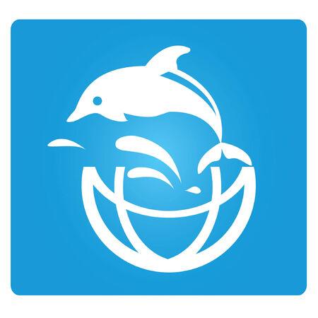 dolphin jump Stock Vector - 24871136