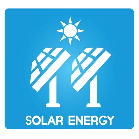 solar energy, solar panels Vector