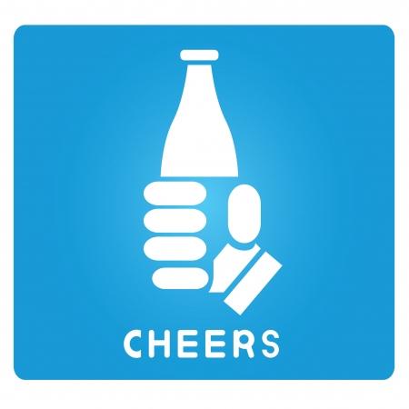 cheers Stock fotó - 24871790