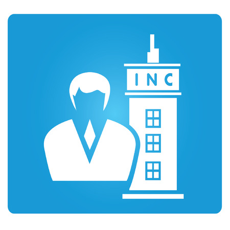inc: INC, corporation symbol Illustration