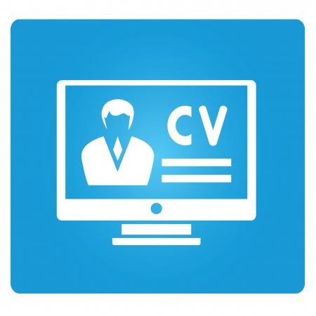 job application: application online  Illustration