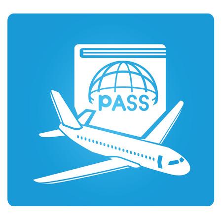 travel symbol: travel symbol Illustration