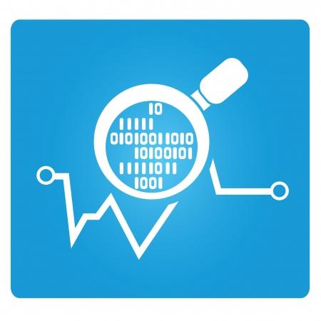 deliberation: digital analysis symbol