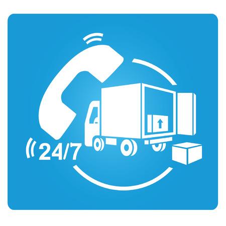 comerce: shipping service symbol