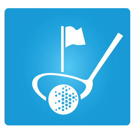 golf tee: golf  Illustration