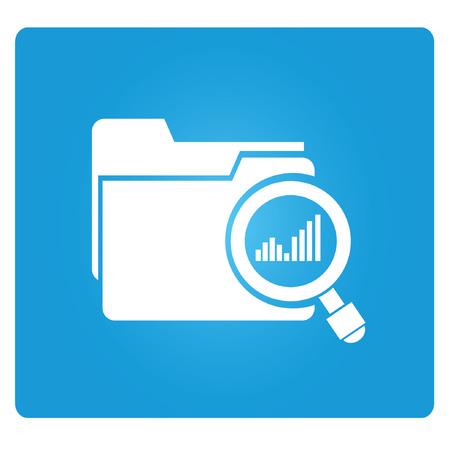 analytic: file analysis Illustration