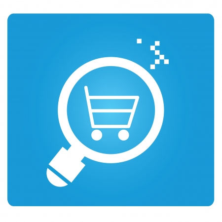 e commerce: e commerce analysis Illustration