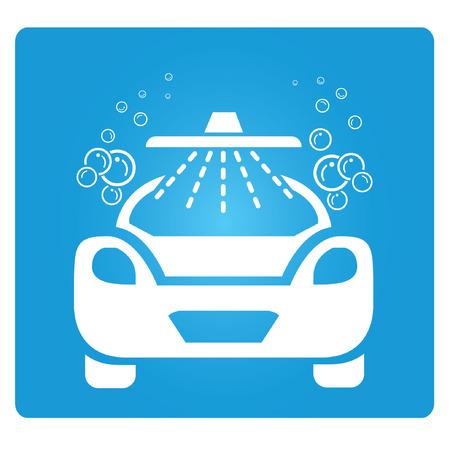 carwash: lavado de autos Vectores