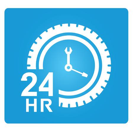 helpdesk: auto service symbol