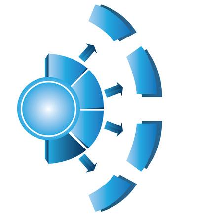 continuity: blue diagram