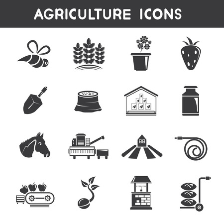 rubber tube: agriculture icons