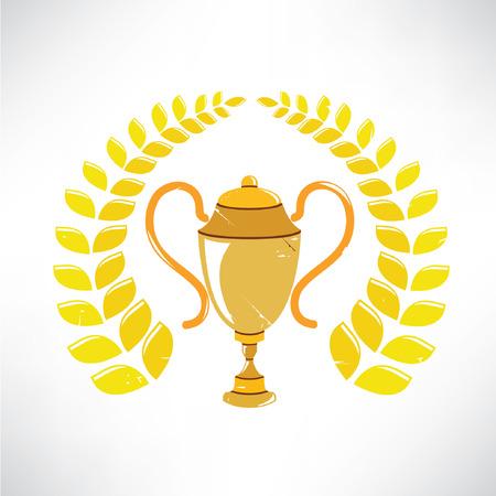 joust: trophy cup , retro prize