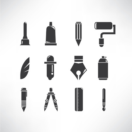 writing instrument: writing tools Illustration