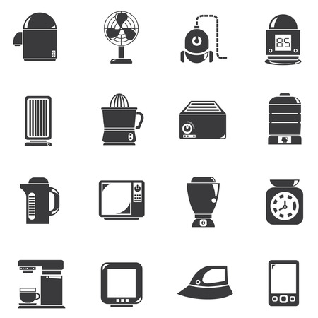 juicer: home appliance icons