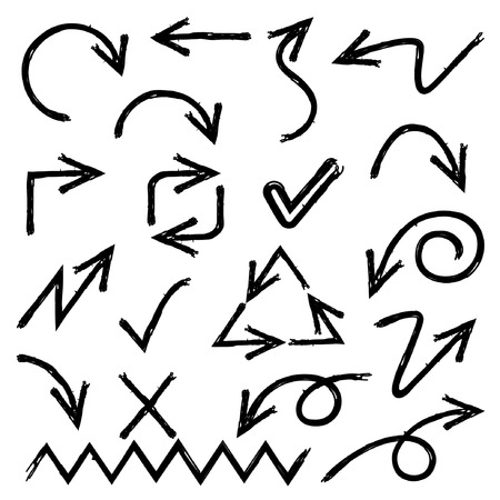 sketched: sketched arrows