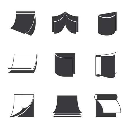 monograph: book icons