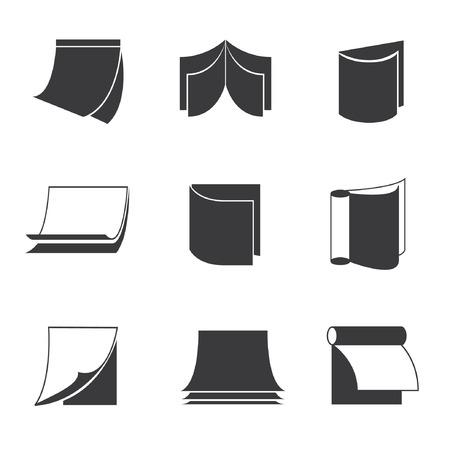 monograph: book icons