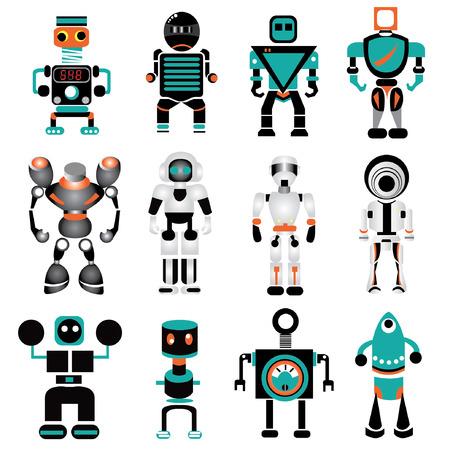 robot arm: robot icons