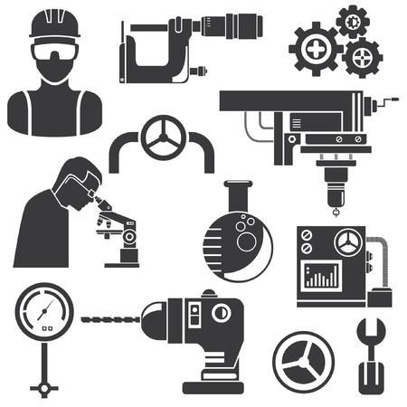 habiliment: industrial engineering, industrial tools