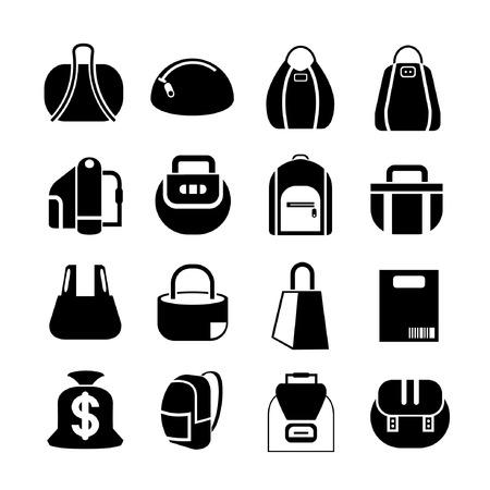 sac: bag icons