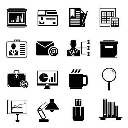 programme: iconos de Office Vectores