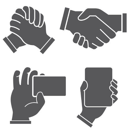 assent: handshake Illustration