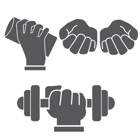 petition: set of hand in different postures