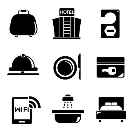 hotel icons: hotel icons