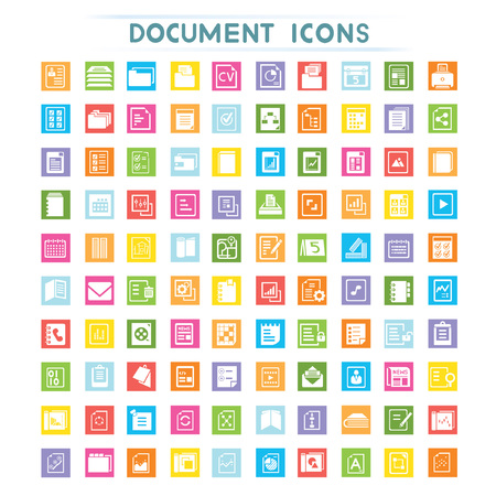 documentation: document icons