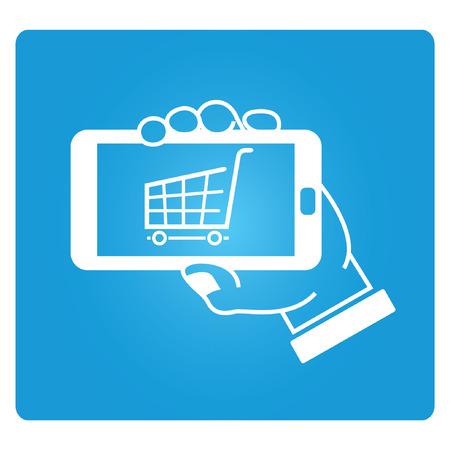 mobile commerce: mobile commerce Illustration