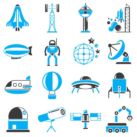 space station: space icons