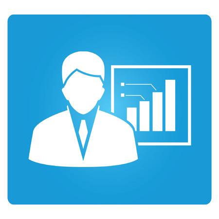 informe comercial: Informe empresarial  Vectores