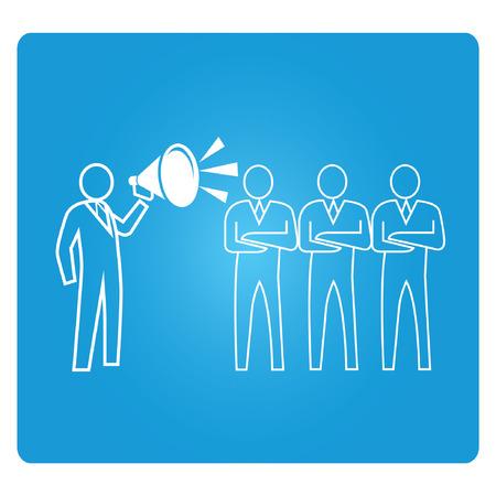 opdracht, opleiding, blauwe knop vierkant