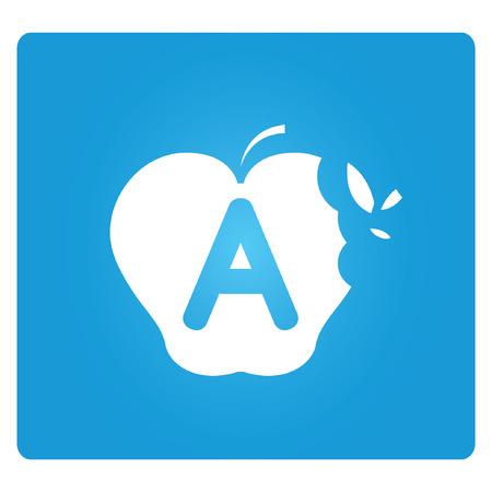 goodly: grade A, blue square button