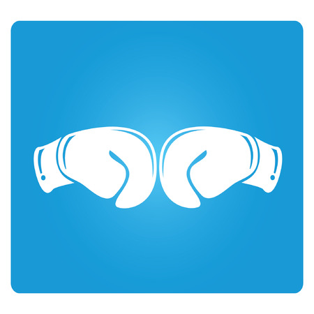 slap: fighting, blue square button