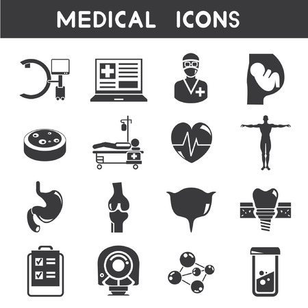 orthopaedic: medical icons