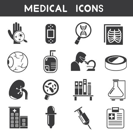 los iconos de médicos