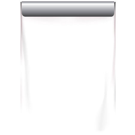 hanging projection screen Vector