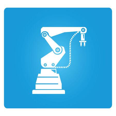 robot arm: robotic arm