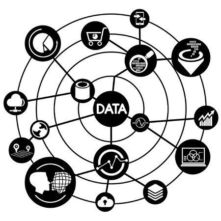 world security: data analysis, connecting diagram