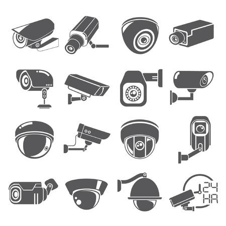 sistemleri: CCTV simgeleri Çizim