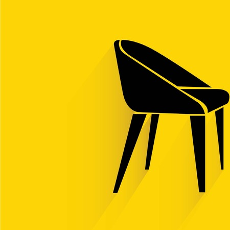 interior design: chair Illustration