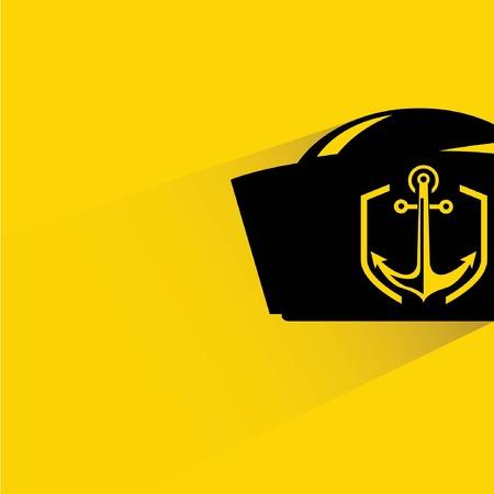 captain hat: captain hat Illustration