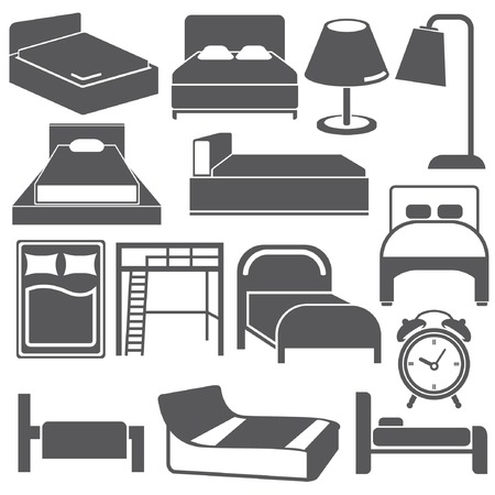 sleeping room: bed icons