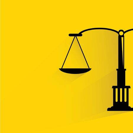 impartiality: law, justice scale