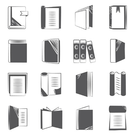 stack of documents: book and report document icons