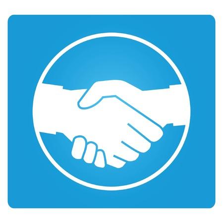 promise: handshake Illustration