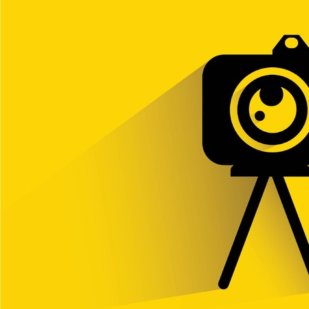 studio photography: camera Illustration