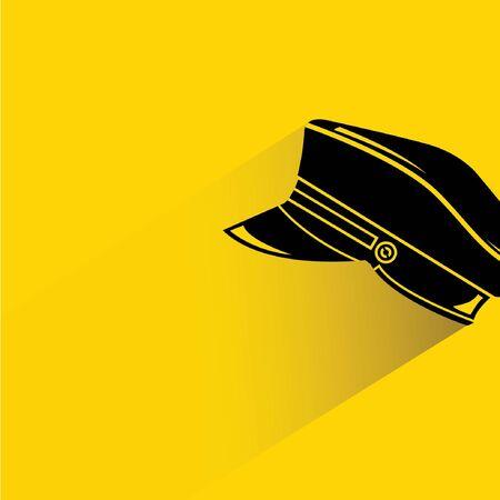 chauffeur: uniform hat