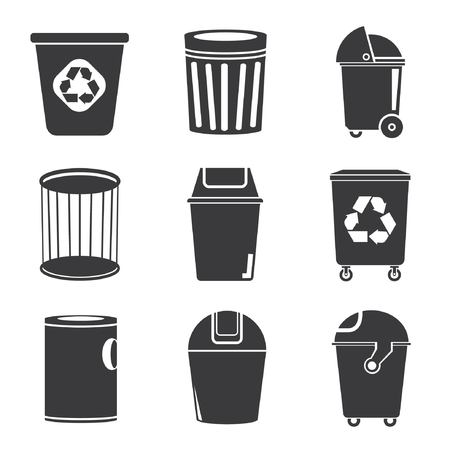 swill: recycle bin icons